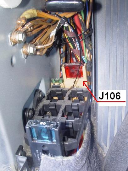 Реле ABS,которое с предохранителем - его не могу найти(Смотрел слева под ногами - там тока стеклоподъемников...